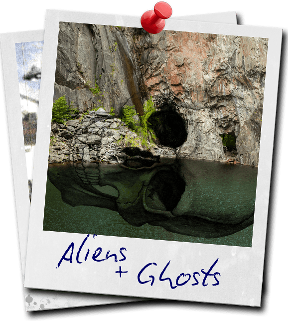 Aliens & Ghosts Polaroid