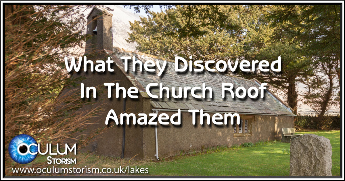 What They Discovered In The Church Roof Amazed Them
