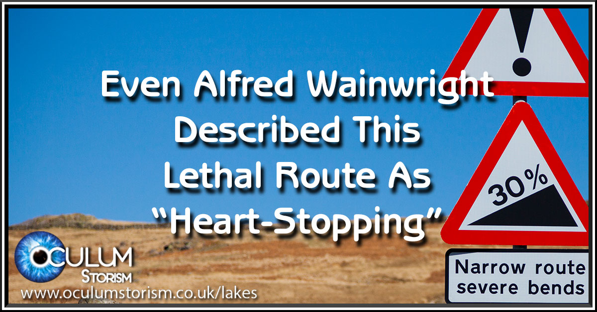Even Wainwright Described This Lethal Route As 'Heartstopping'