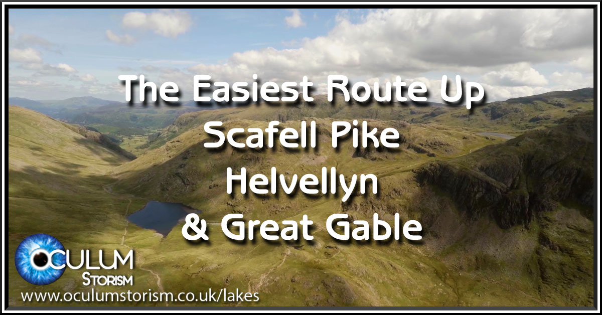 The Lazy Way To Climb Great Gable & Scafell Pike
